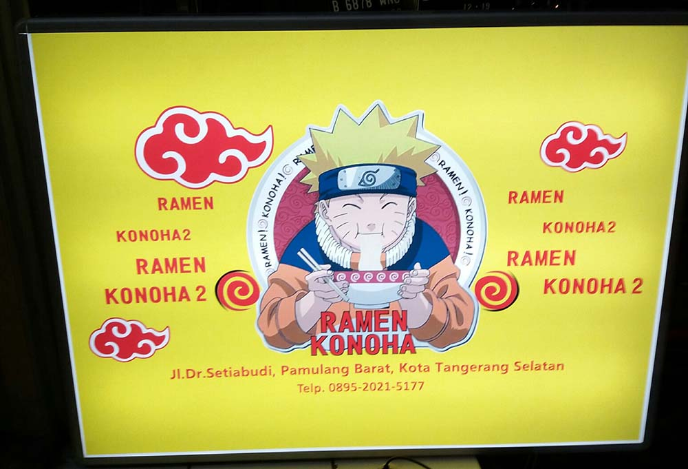 Neon Box Ramen Konoha